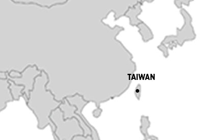 A map of the region