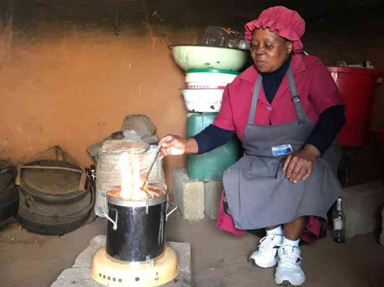 Breath of fresh air; a clean cooking solution for Africa  thumbnail image