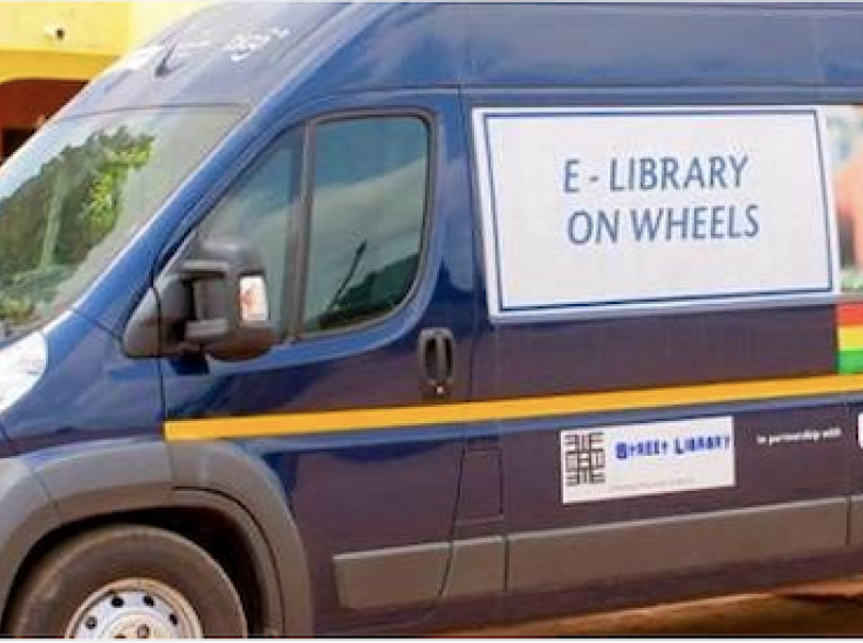 Moving stories; how a mobile library is bringing digital inclusion to Ghana thumbnail image